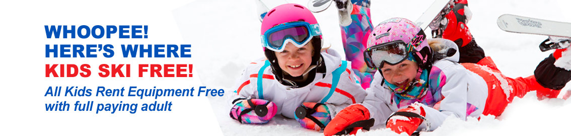 Kids Ski Free with Alps2Alps. Book your ski rental here.