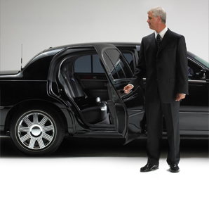 Limousine with driver