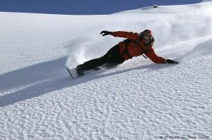 Chamonix-snowboarding