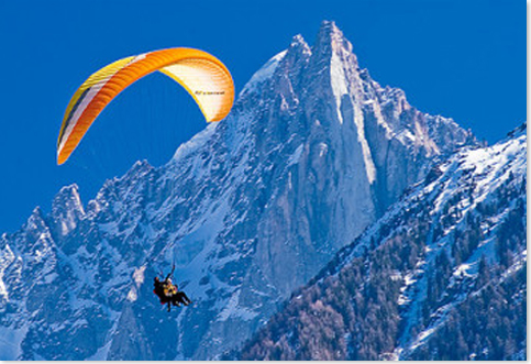 Paragliding-In-The-Alps
