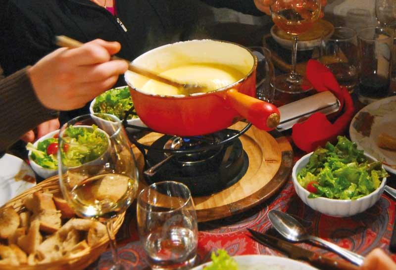fondue alps