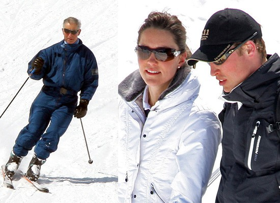 Prince-William-Prince-Charles-Kate-Middleton-Ski-Together-Klosters
