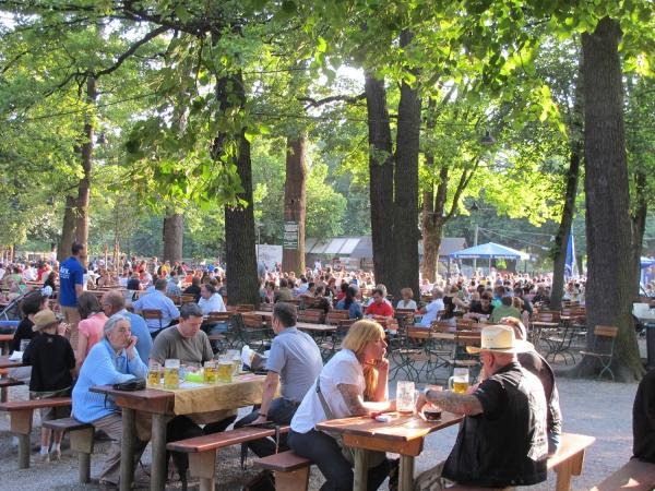 Hirschgarten beer garden