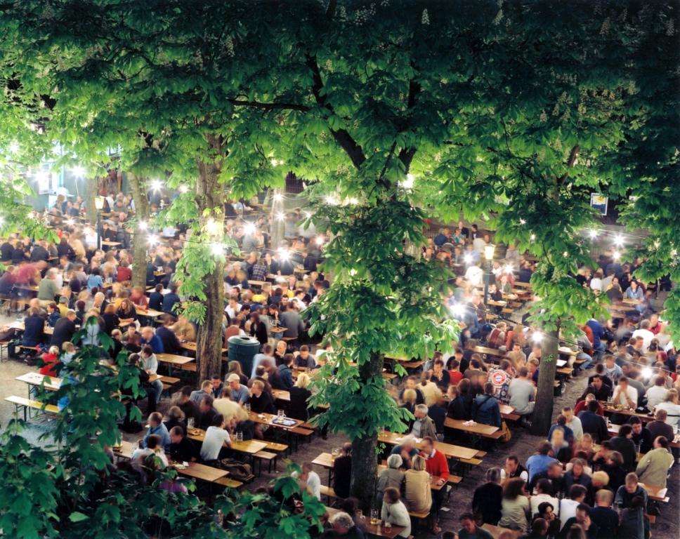 Hofbräukeller am Wiener Platz beer garden