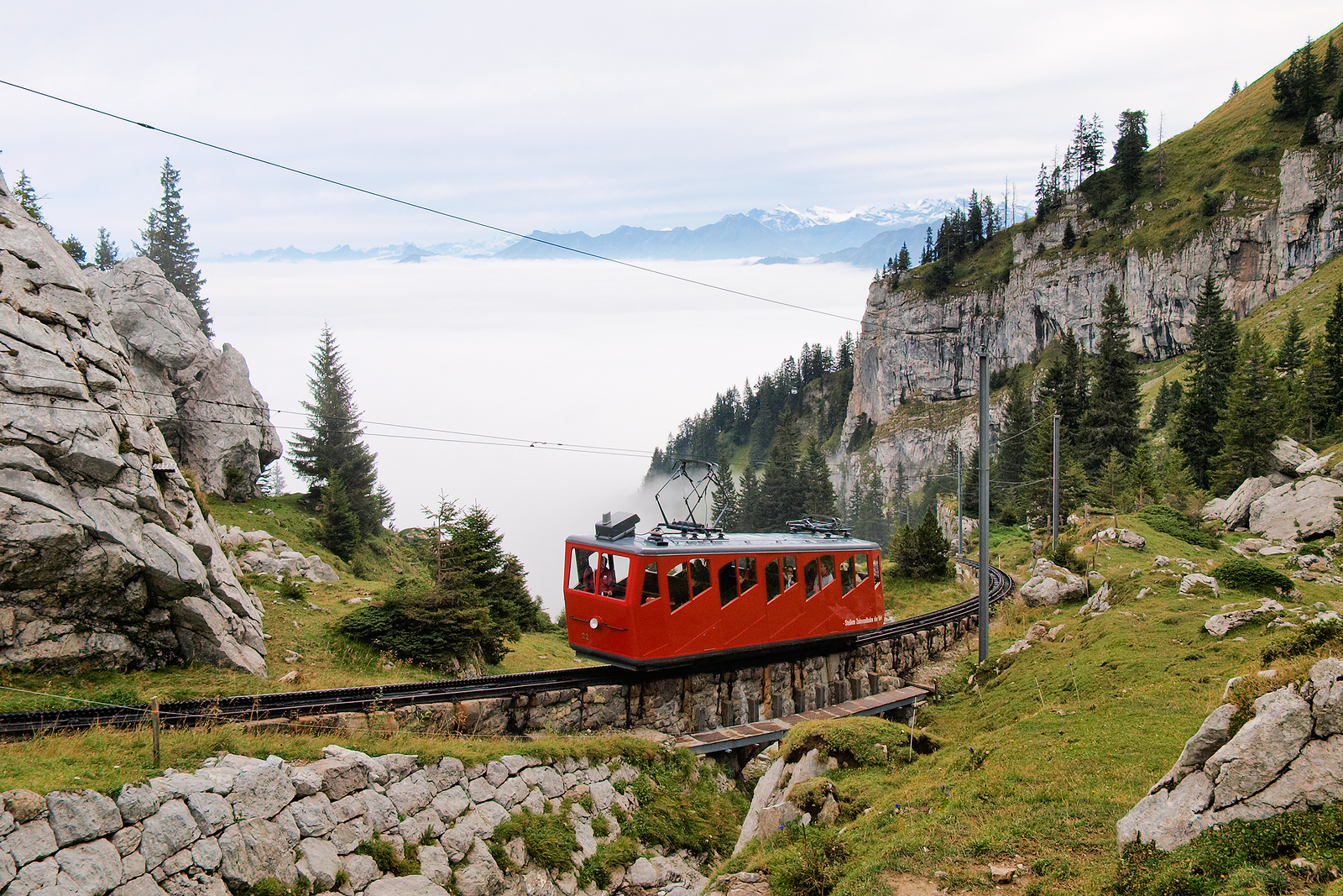 Rent A Car Or Train In Switzerland
