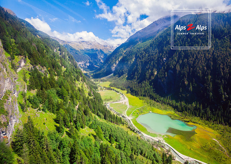 Alps valley