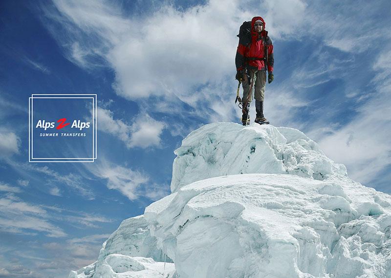 Men at Alps