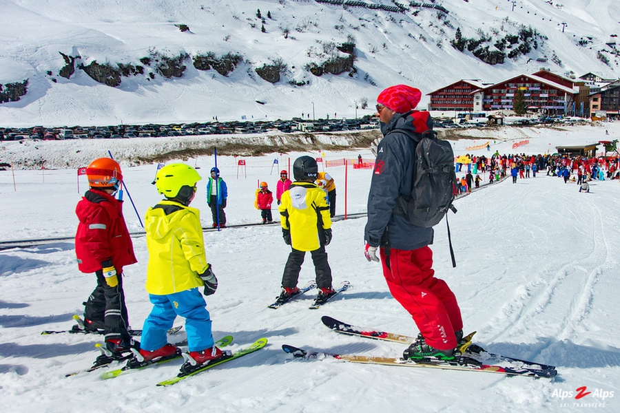 Alps2Alps-Tips for Skiing with Kids