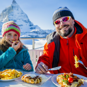 Alps2Alps-ski food