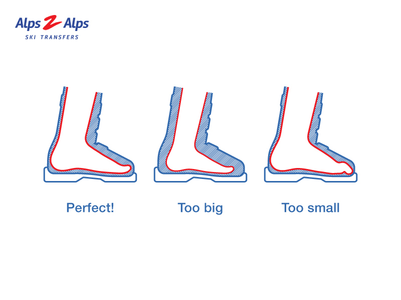 ski boots size guide