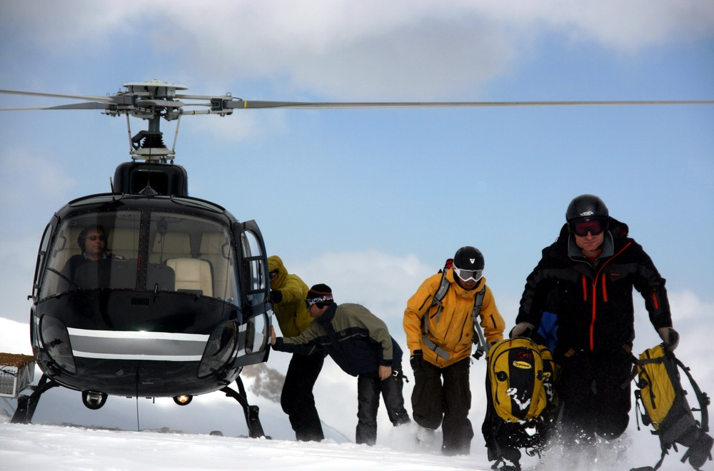 Alps2Alps-heli ski