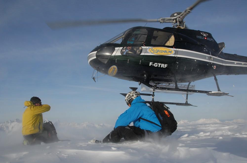 Alps2Alps-heli skiing