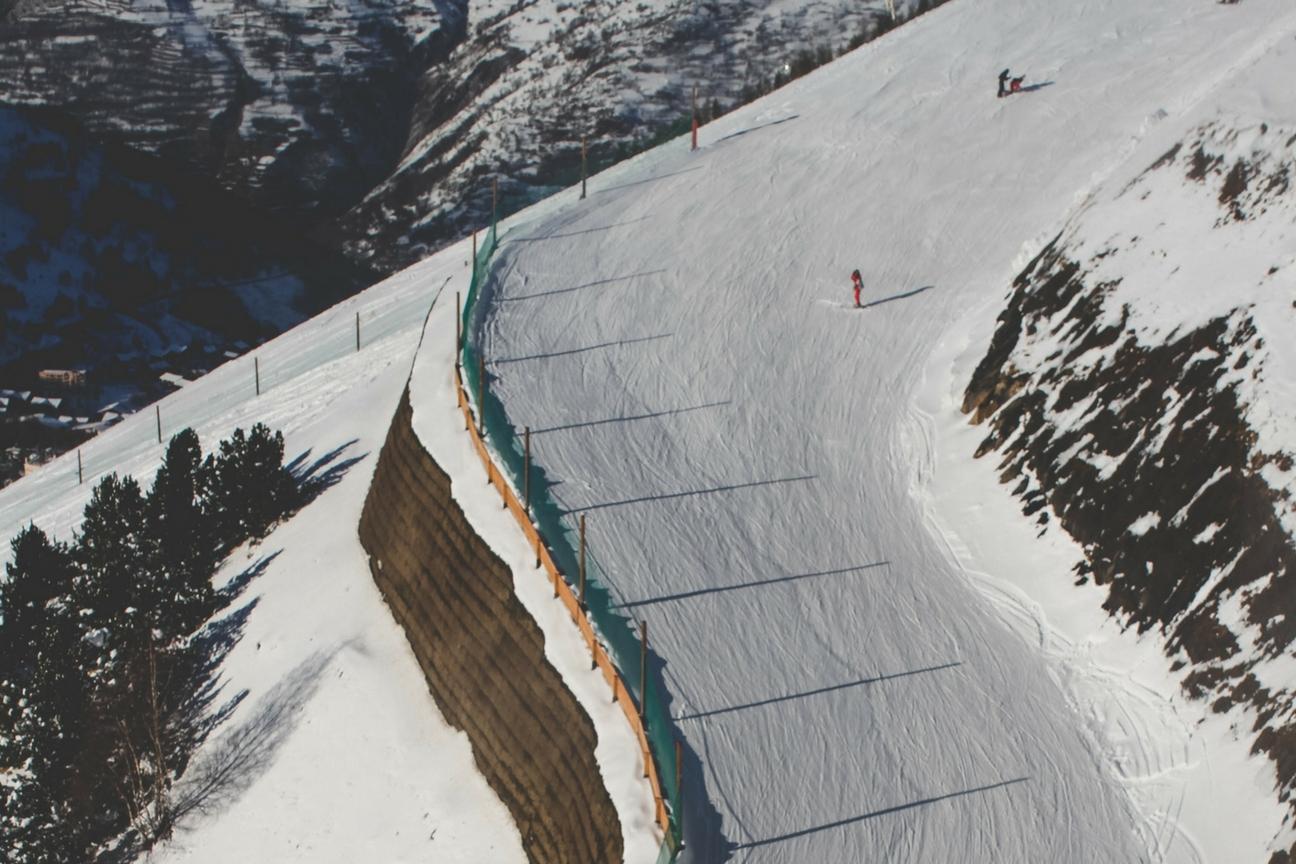 Les 2 Alpes Slope - Best Ski Resorts in France