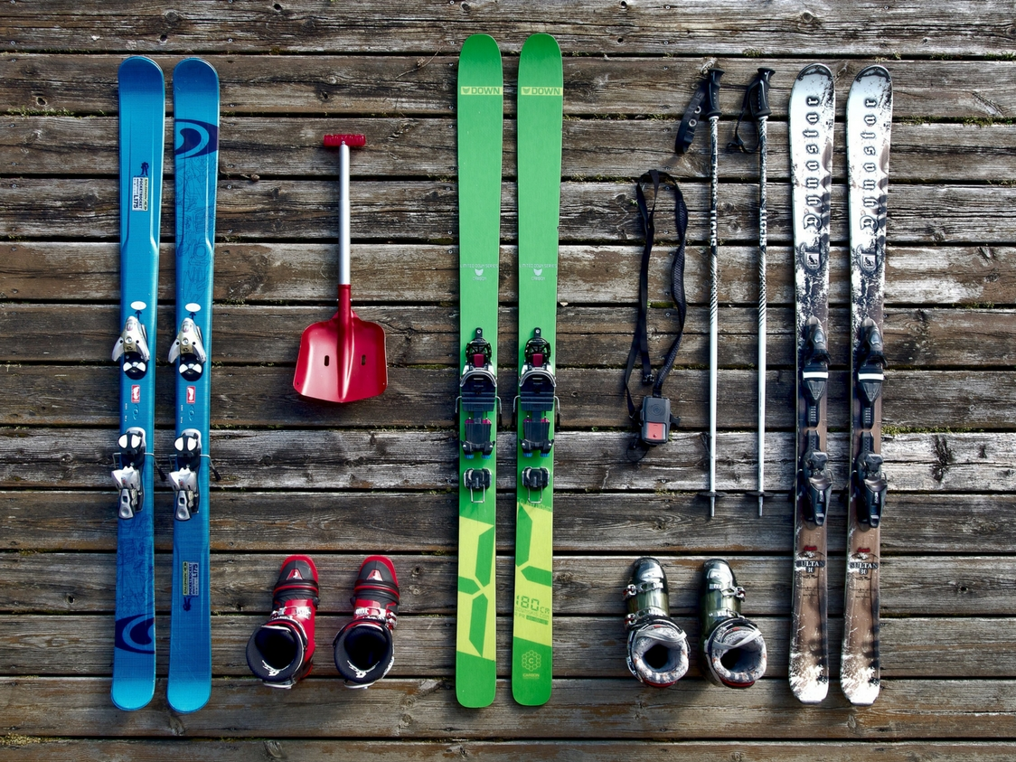 Skis hired at a cut price