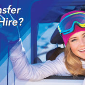 ski transfer or car hire