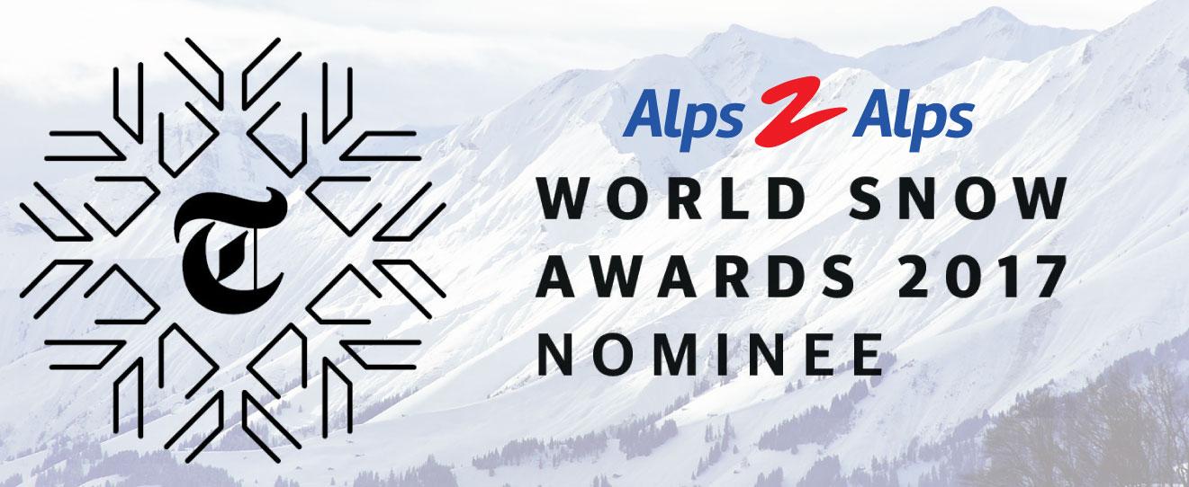 world snow awards nomination alps 2 alps