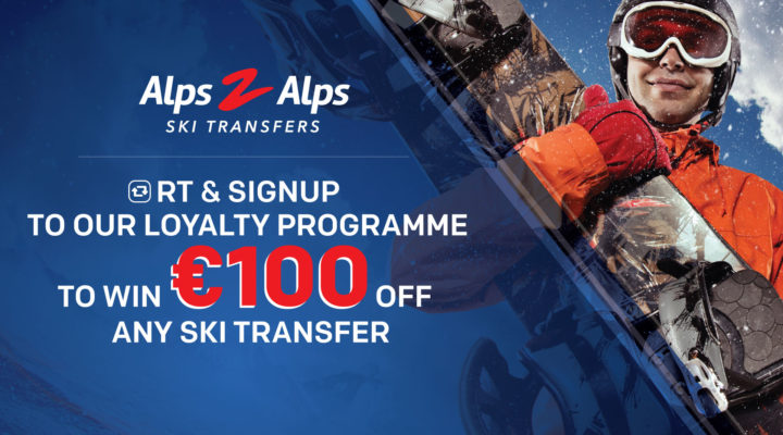 win 100 euros off ski transfer competition