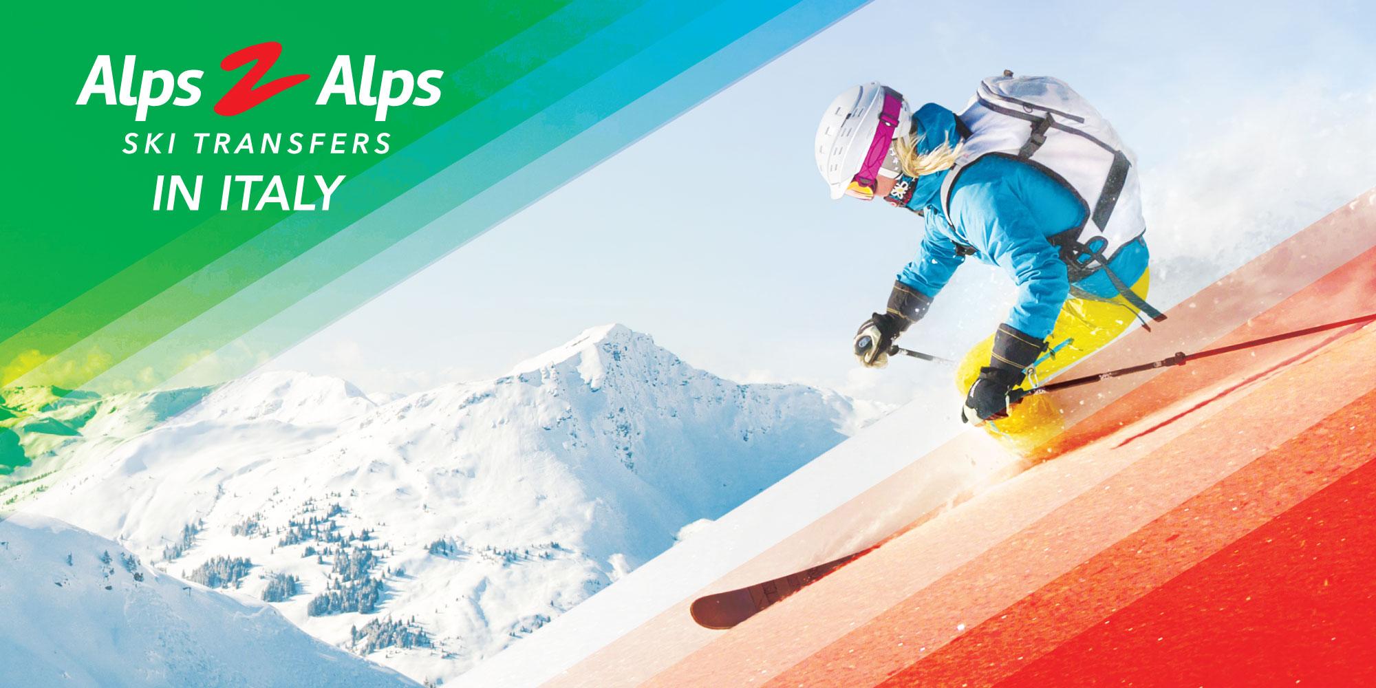 ski transfers to italy from alps 2 alps