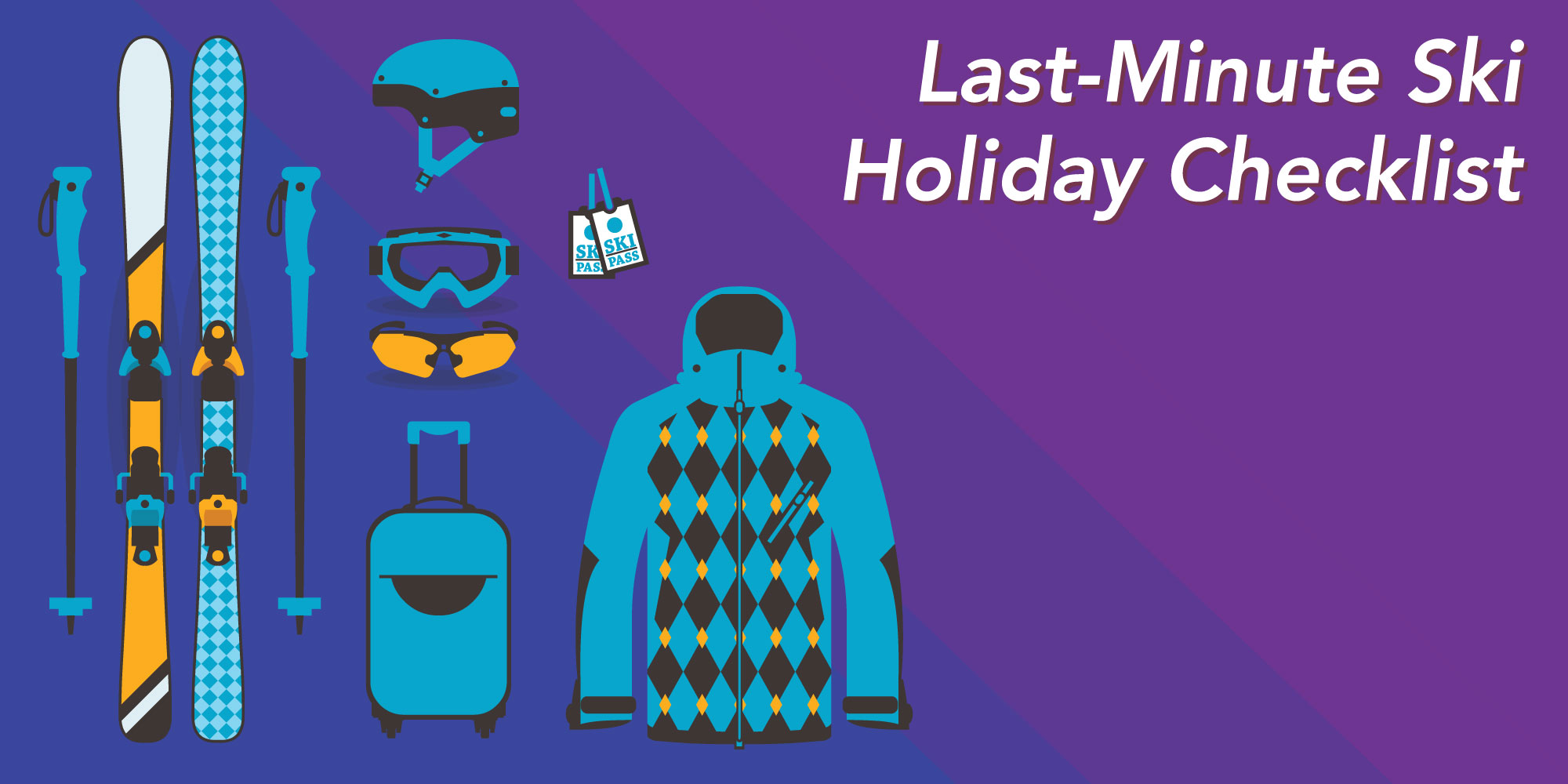 Last minute ski holiday checklist alps2alps transfer blog for Week end last minute