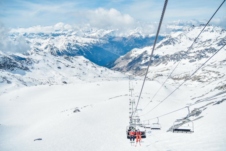 corporate ski weekend