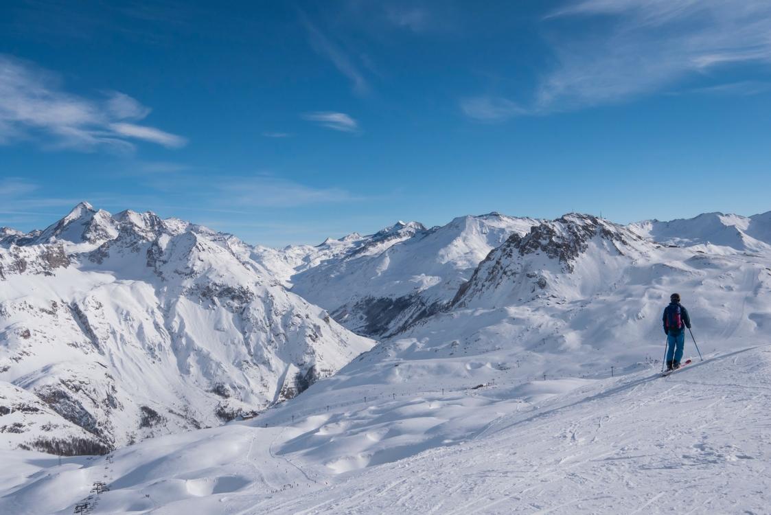 get over ski nerves