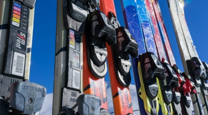 How to service your skis