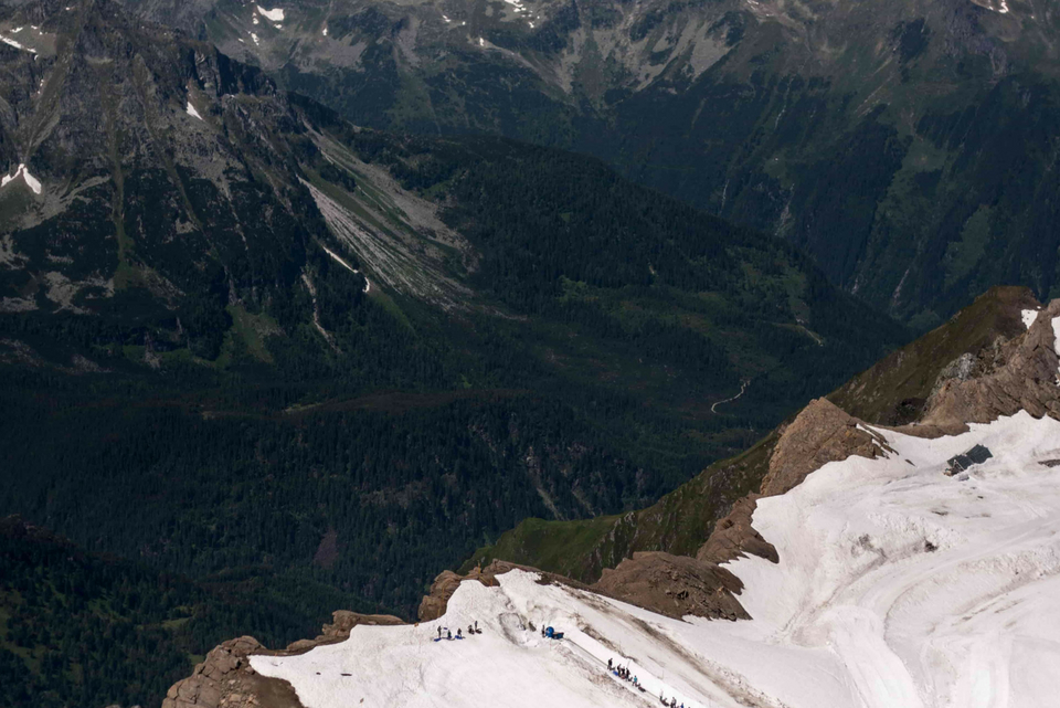 Glacier Skiing in Austria