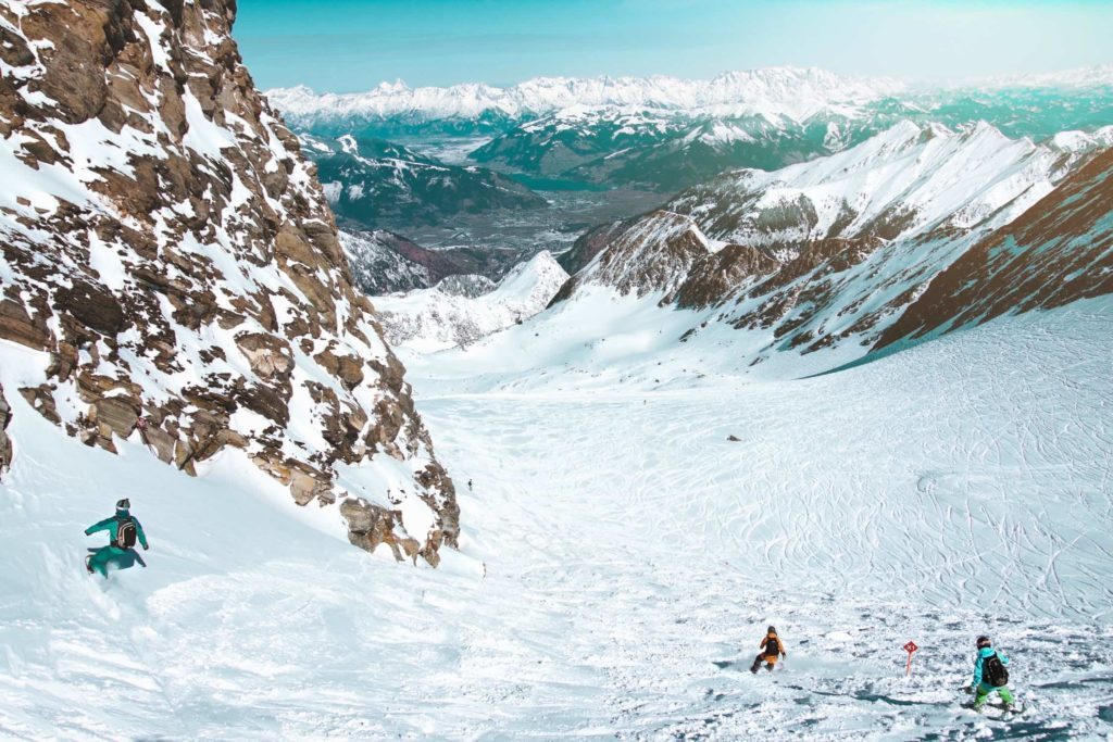 The Best Spots for Glacier Skiing Alps
