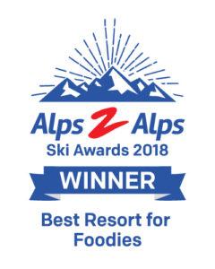 Best Resort for Foodies award