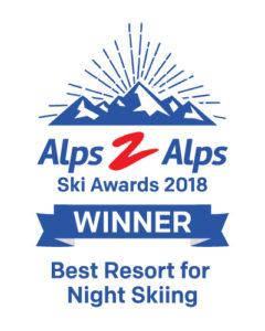 Best Resort for Night Skiing award