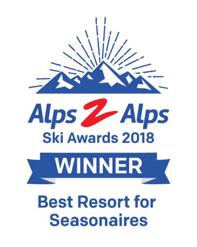 Best Resort for Seasonaires award