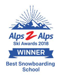 Best snowboarding school award