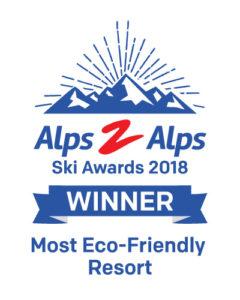Most eco-friendly ski resort award