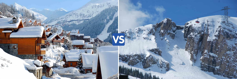 Best resort for intermediates and experts? Meribel or Jackson Hole?