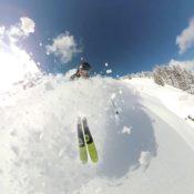 Extreme alpine skiing