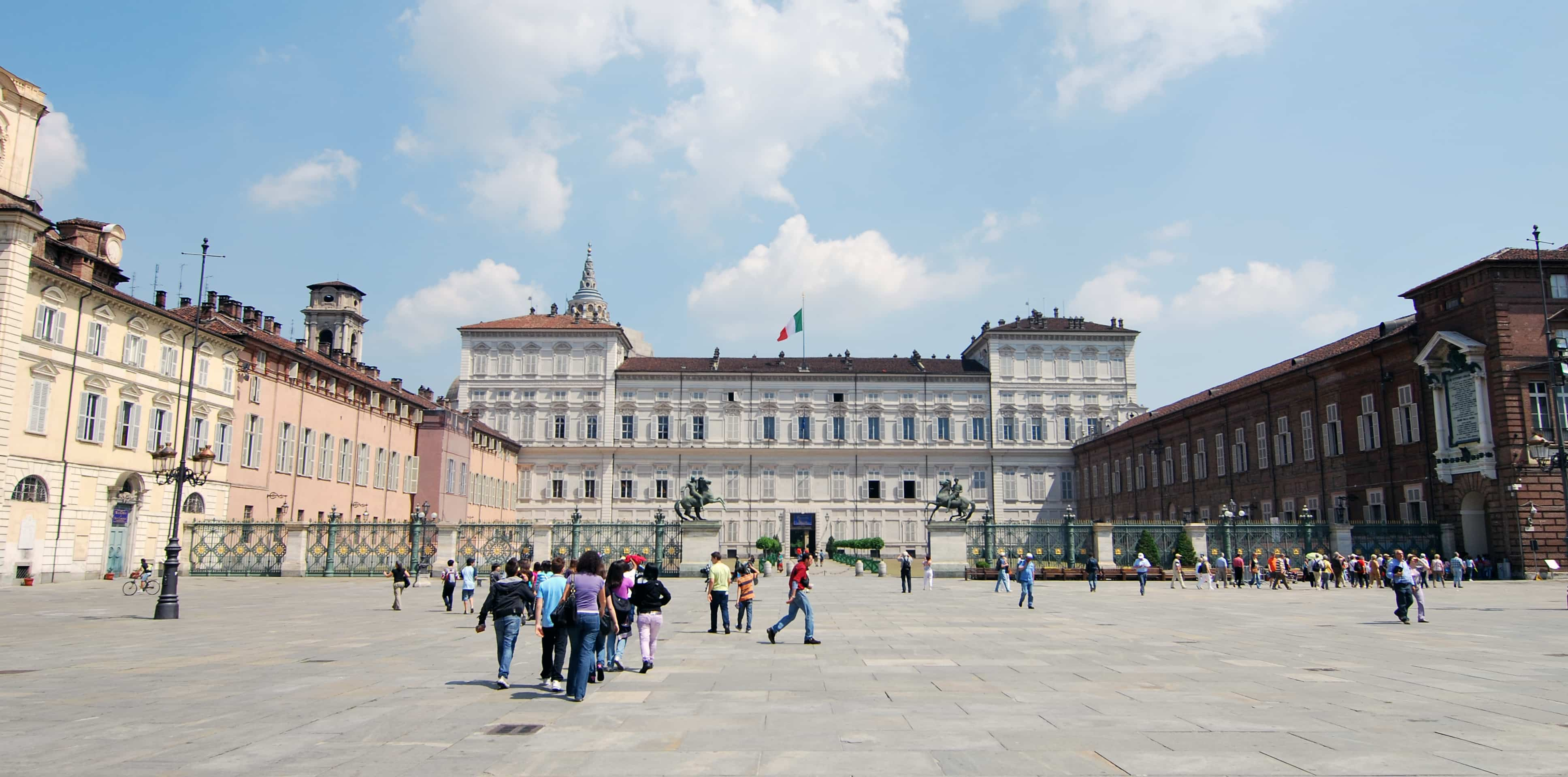 Piazza Costello in Turin