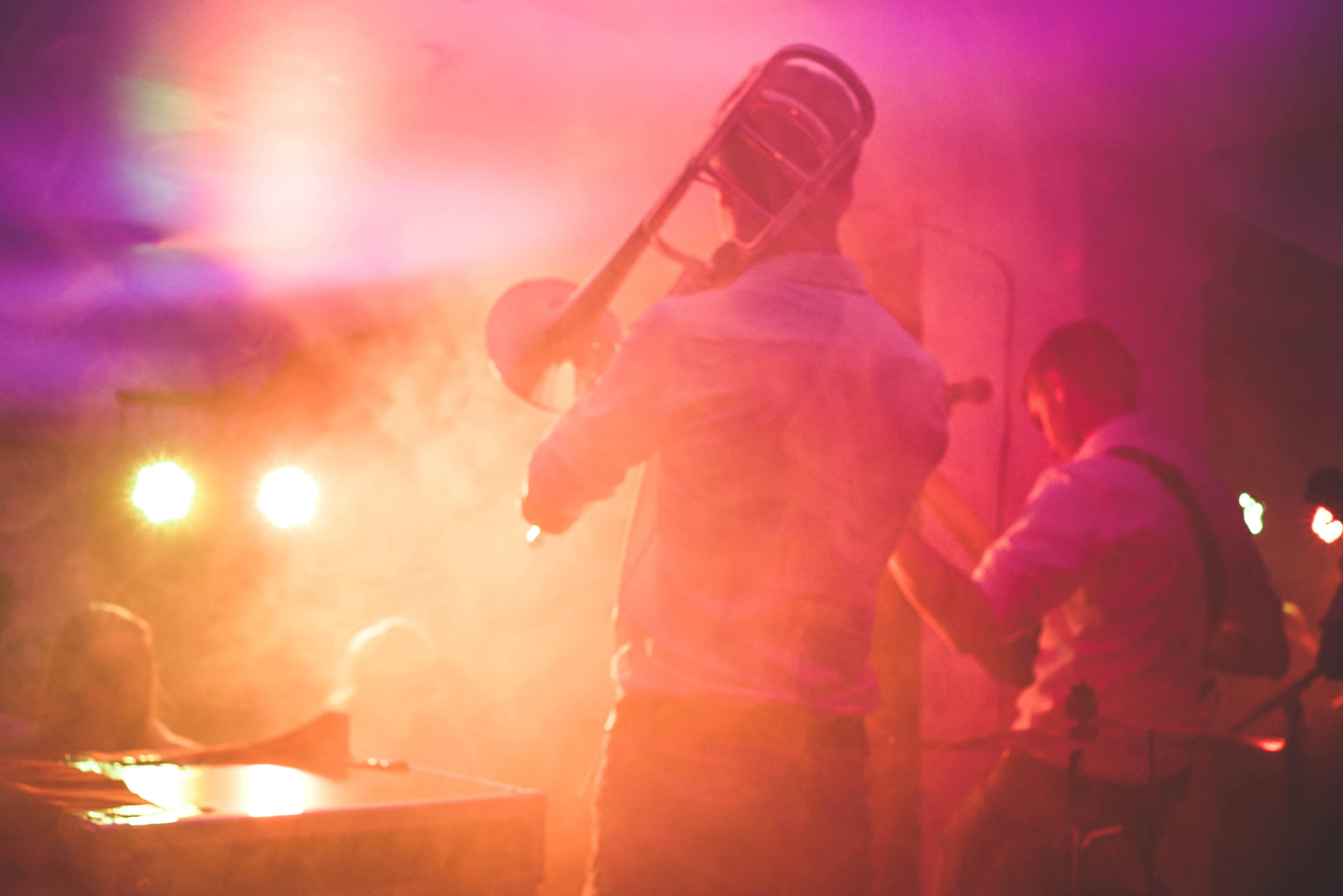 Jazz festival in the alps