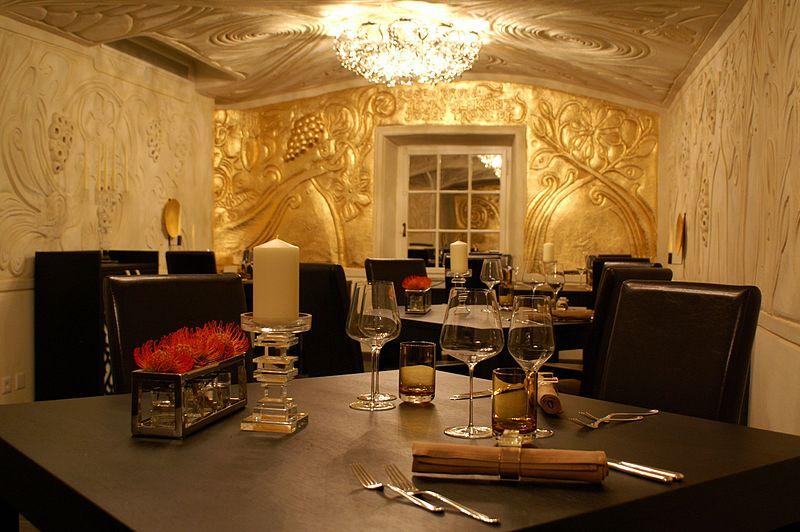 Ecco restaurant in St Moritz