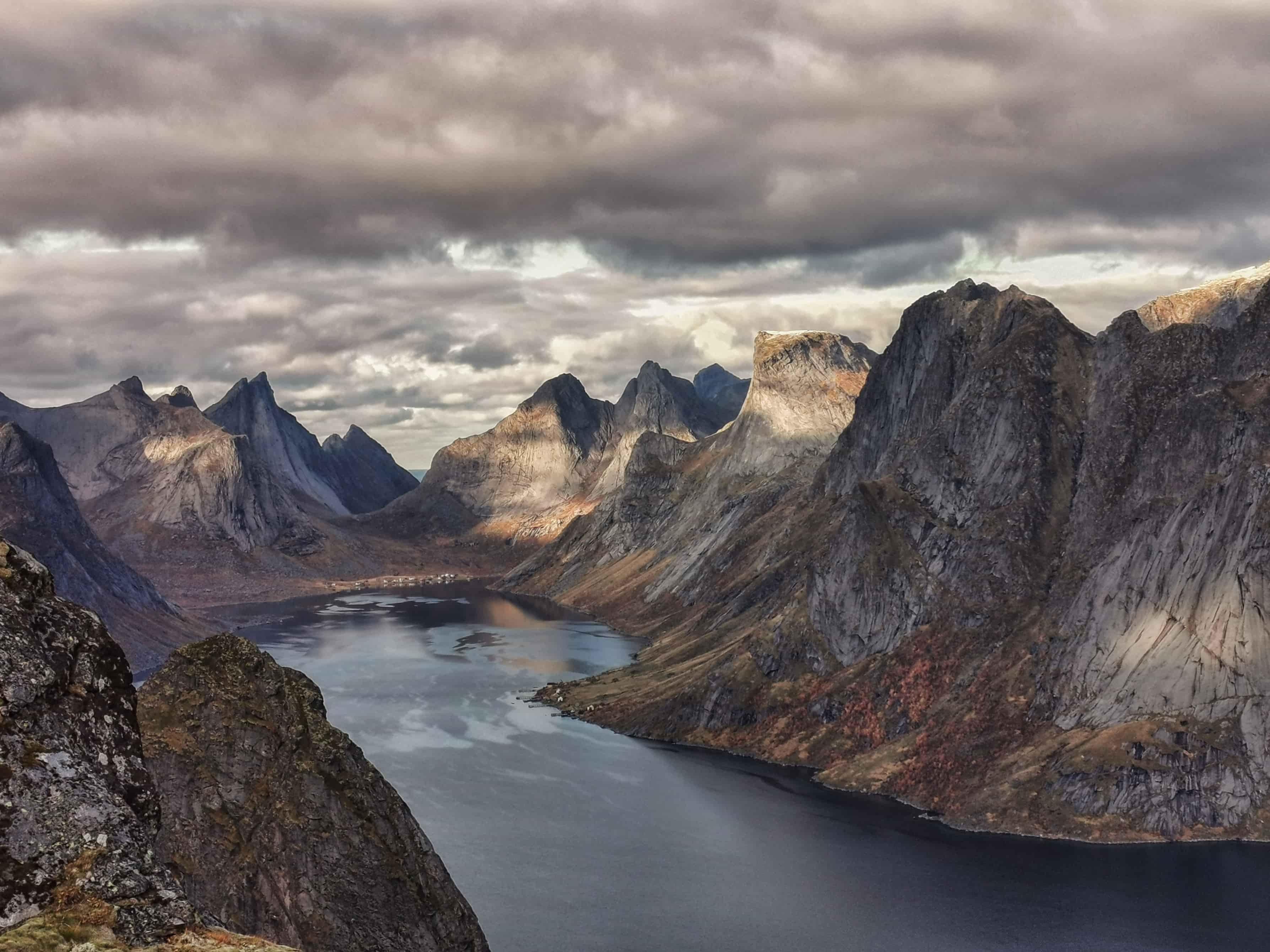 Mysterious Alpine lake